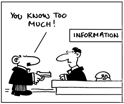 Knowing Too Much Information copy