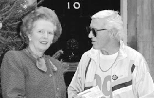 Thatcher spent eleven consecutive new years eve celebrations with  Jimmy Savile. The idea that he would have been allowed such a close relationship with the Prime Minister without being thoroughly vetted by the security services is frankly laughable.