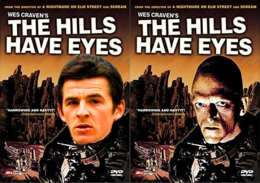 Joey Barton mutant creature