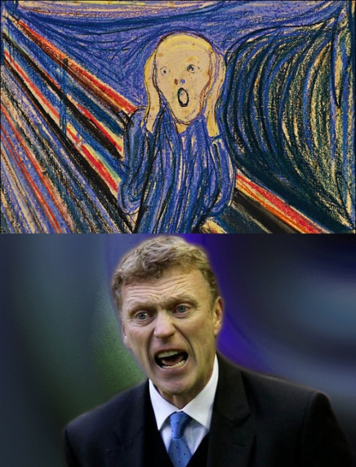 David Moyes The Scream