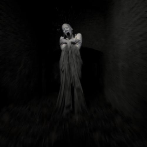 Creepy dark image