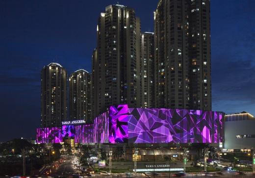 Taman Anggrek Mall facade -353,57m