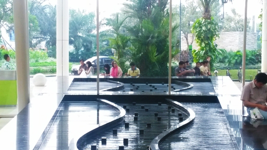 Central Park reception foyer