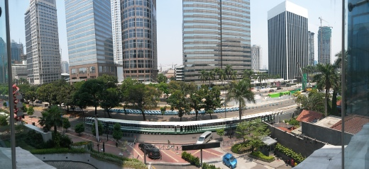 FX School big window view
