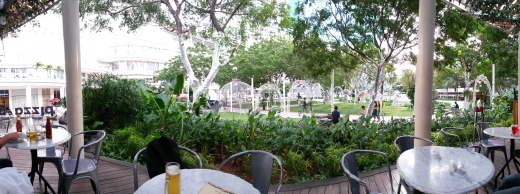 Pizza and Biere panorama 2