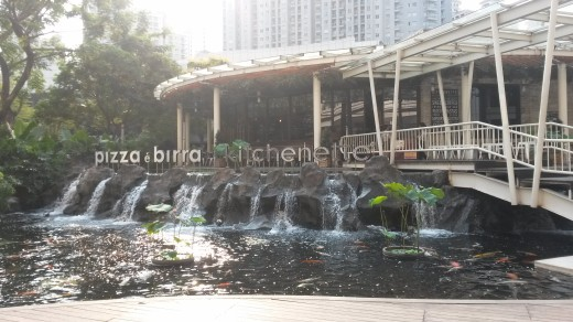 Pizza & Biere & Kitchenette