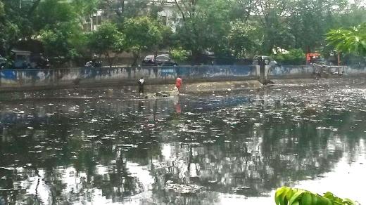Tanjung Duren filthy canal