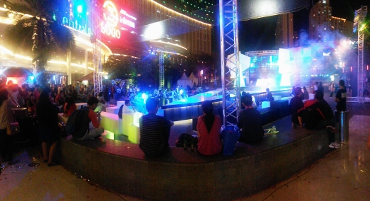 Tribeca at night