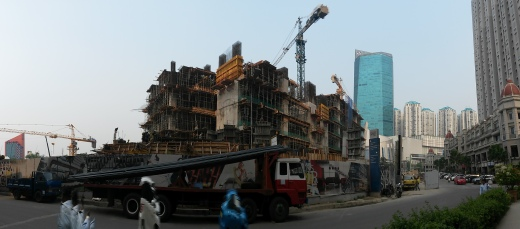 Construction around Mediterania 1