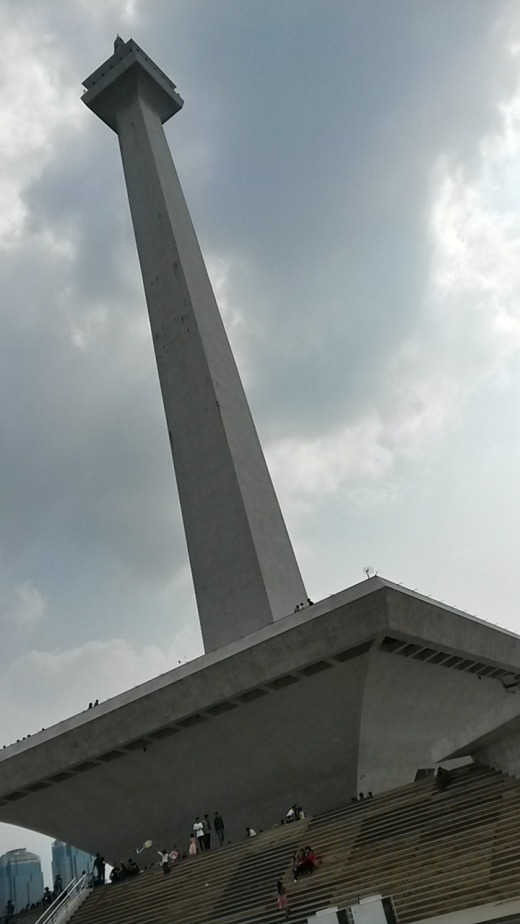Monas, the National Monument in Central Jakarta.