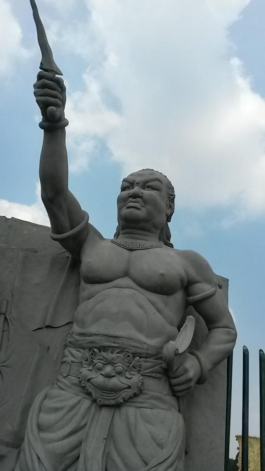 MONAS Statue 1