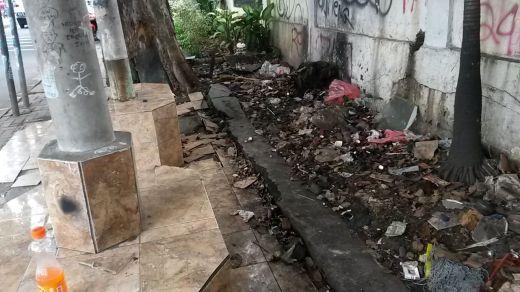 Jalan Palmerah garbage 1