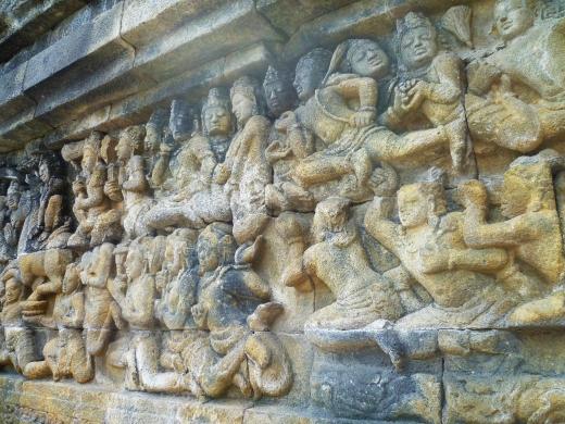 Borobudur detail 4