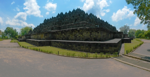 Borobudur panoramic 2