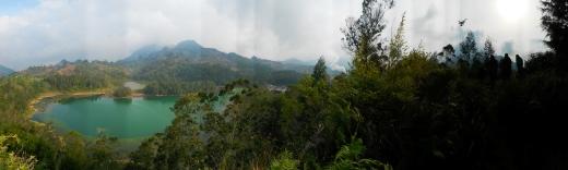Colour lake panoramic