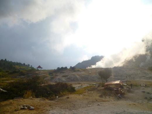 Dieng sulphur mines 2