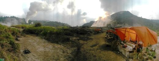 Dieng sulphur mines 6